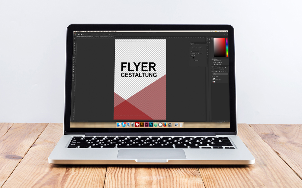 Flyer Gestaltung